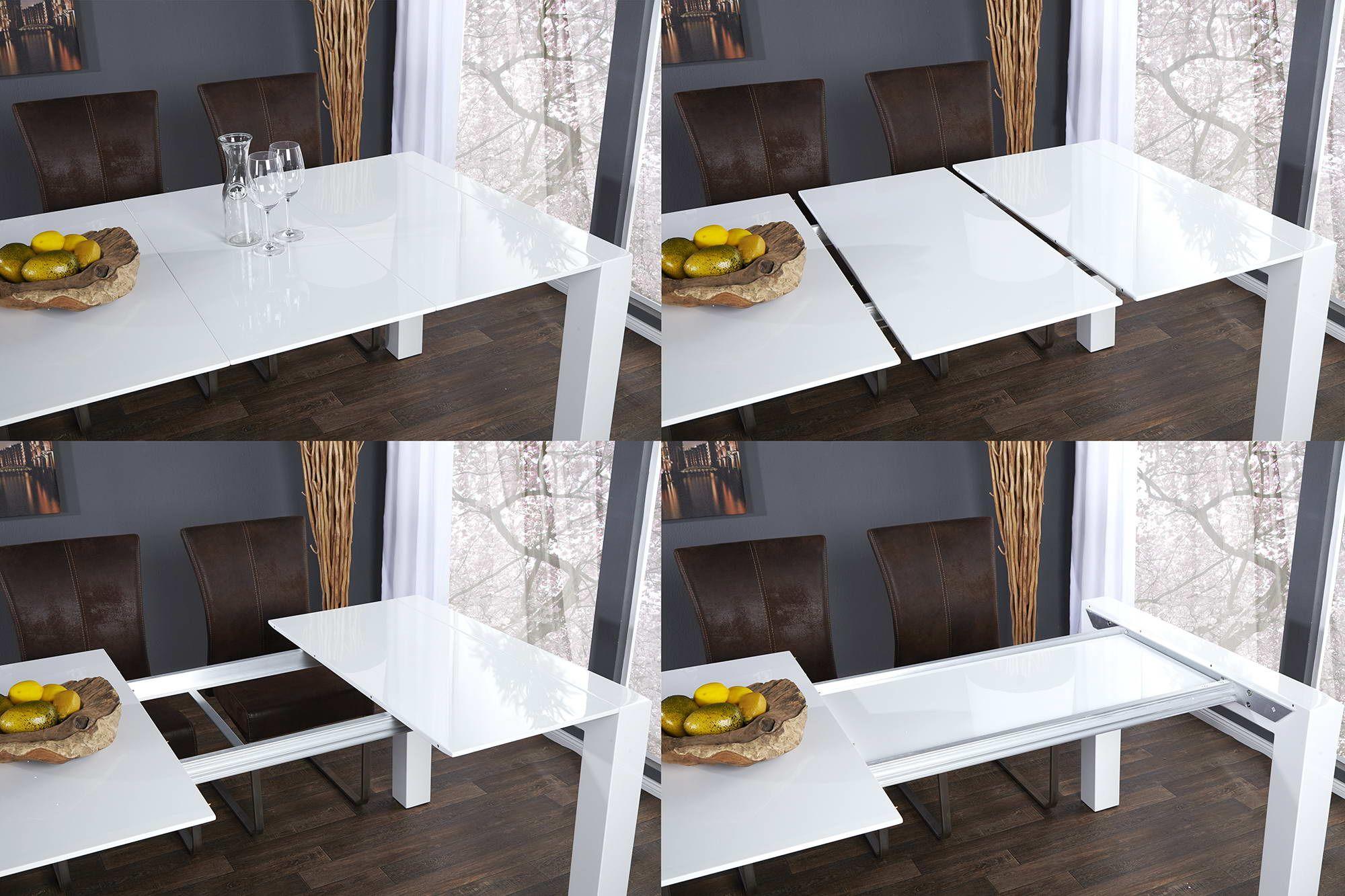 Jedalensky Stol Biely Rozkladaci Limousine 180 270cm Furniture Decor Home [ 1333 x 2000 Pixel ]