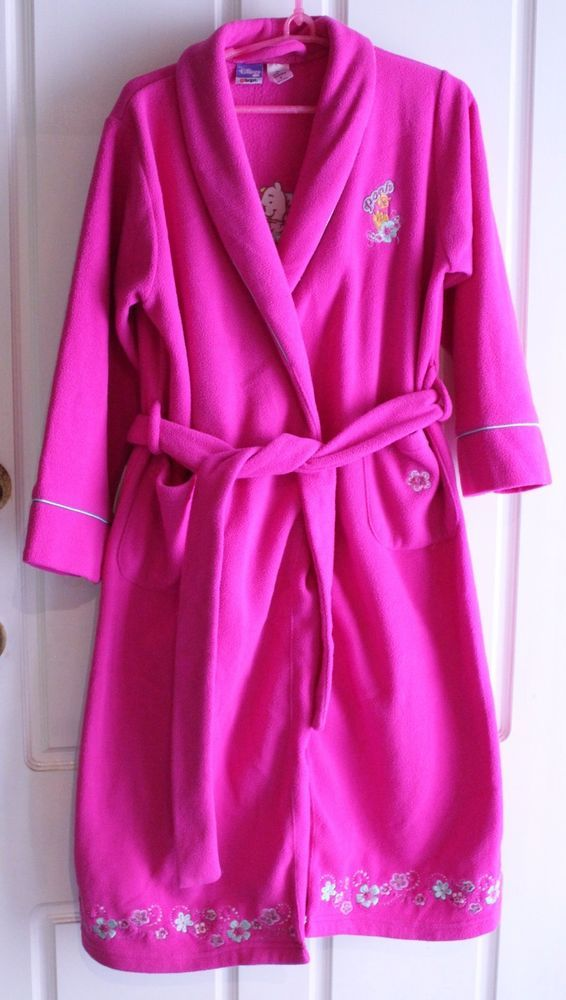 SOLD SOLD ----- GIRLS DISNEY WINNIE THE POOH DRESSING GOWN ROBE WINTER ea75cfbb7c20
