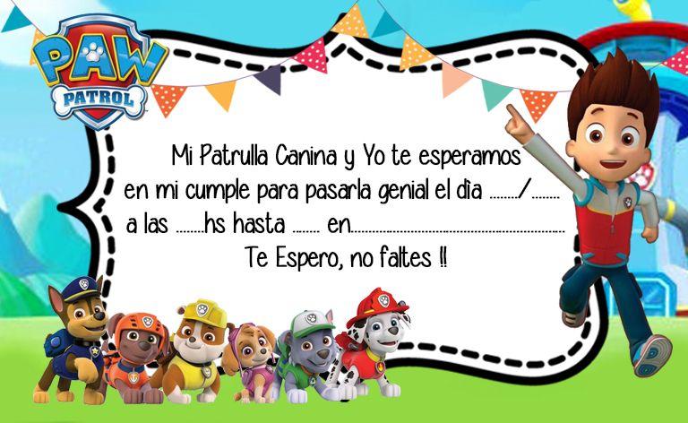 10 Ideas De Axel M Fiesta Infantil Paw Patrol Cumpleaños De Paw Patrol Fiestas De Paw Patrol