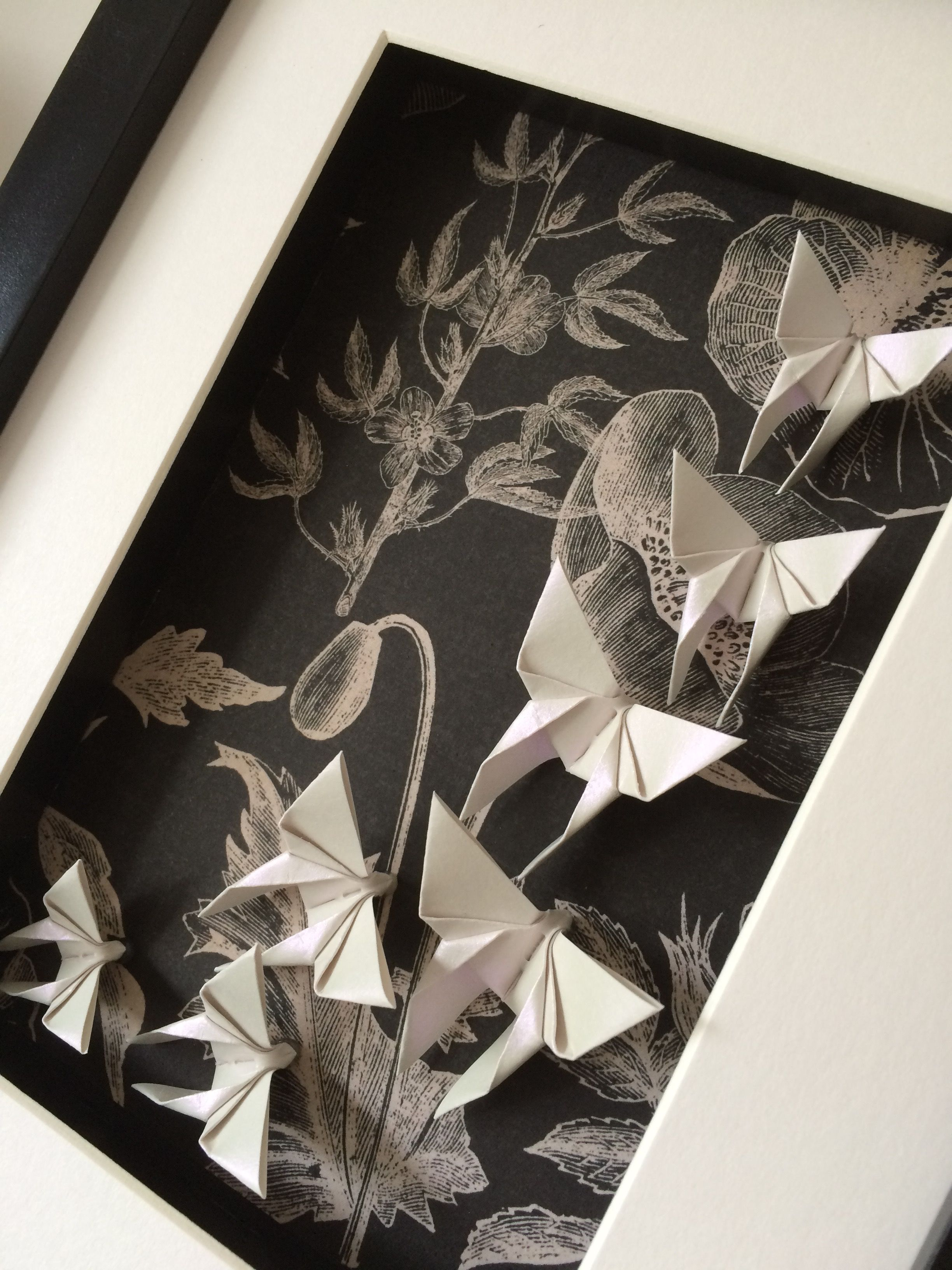 Pin by d h on origami art frames pinterest origami art origami art frames by chie no wa jeuxipadfo Choice Image