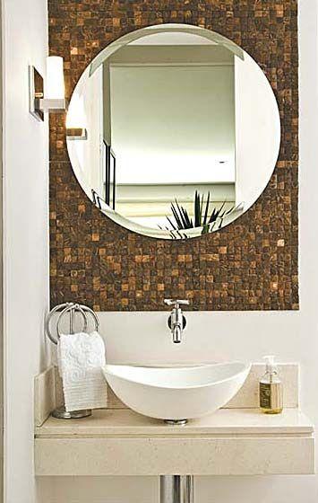 Ideias Para Toalheiro De Pia E Espelho Para O Banheiro Pia De