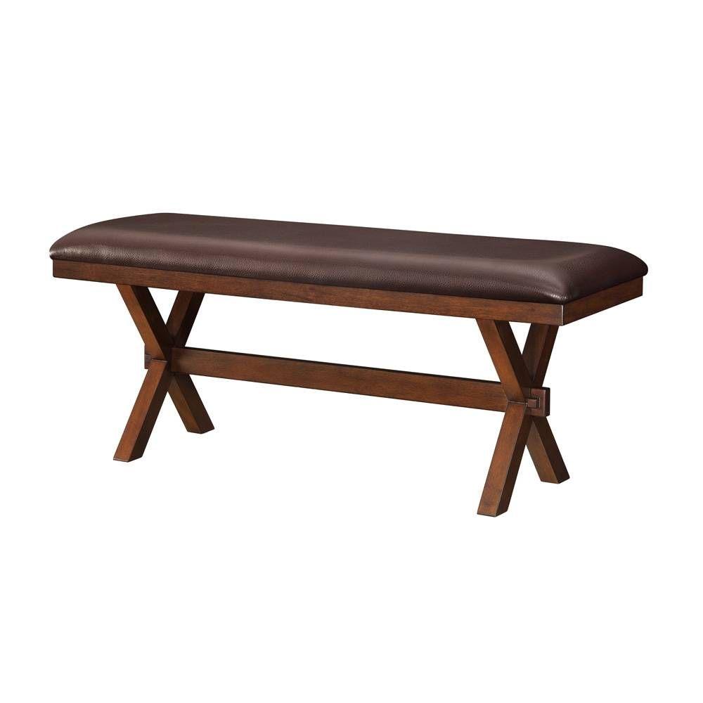 Banca para comedor better homes and gardens maddox muebles pinterest comedores muebles y - Bancas de madera para comedor ...
