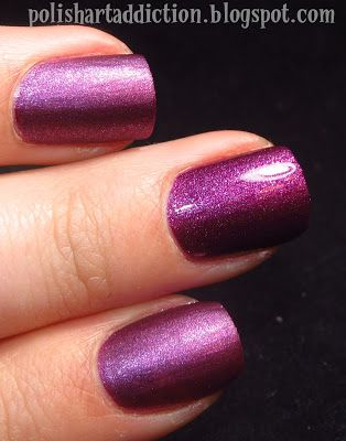 Pure Ice nail polish - Touch Me Softly  My ideal purple! <3