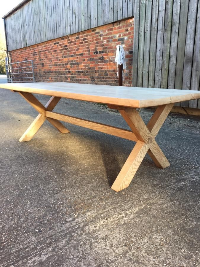 18th Century Style X Frame Farmhouse Table Farmhouse Table Farmhouse Style Table Antique