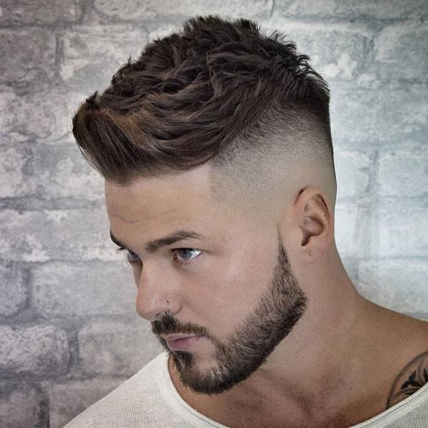 Short Spiky Hair Cool Hairstyles For Men Haircuts For Men Quiff Haircut