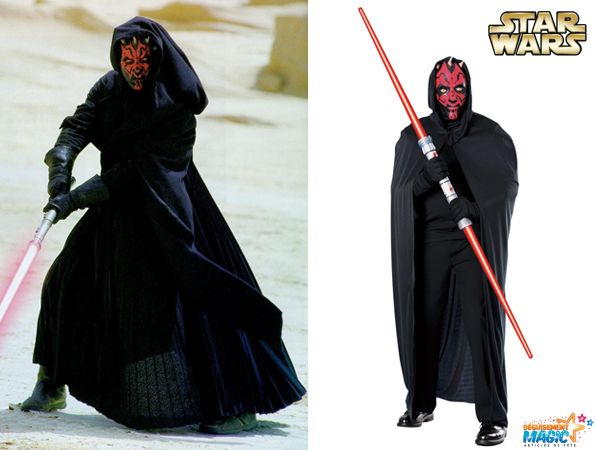 d guisement dark maul costume de sith id al pour halloween
