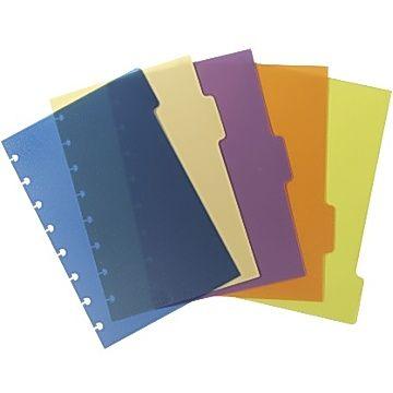 M by Staples Avdelare ARC 5-flik sorterade färger A5