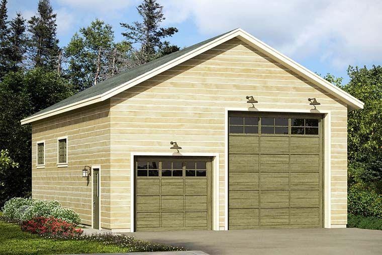 Plan 21926dr 4 Car Rv Garage Rv Garage Plans Country Style House Plans Rv Garage