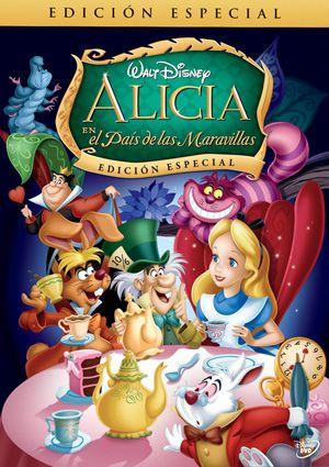 Cartel De Alicia En El Pais De Las Maravillas Disney Movies By Year Alice In Wonderland 1951 Disney Alice