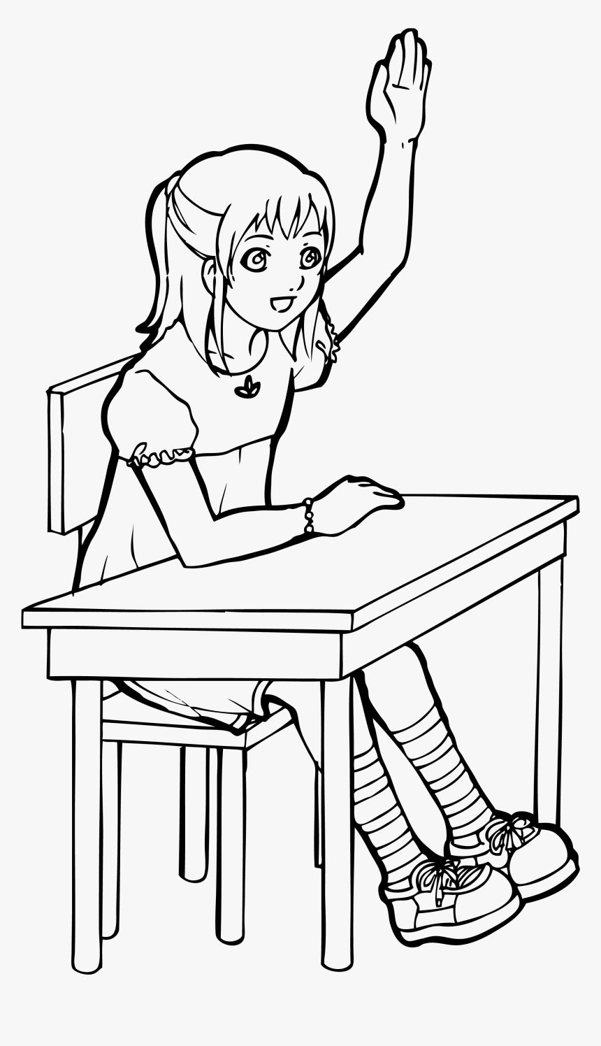 Student Clipart Black And White Ideas In 2021 Student Clipart Clipart Black And White Clip Art