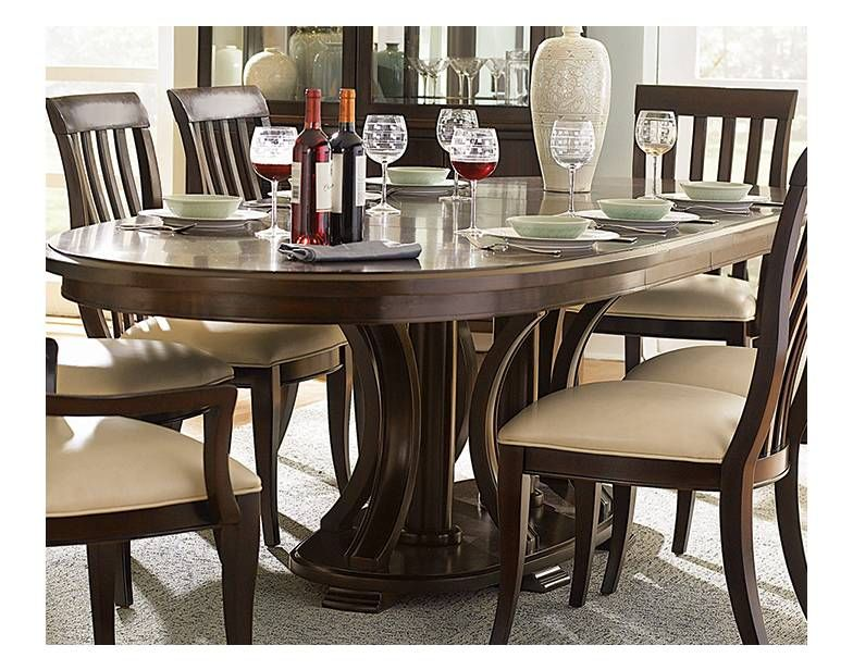 Westwood Double Pedestal Dining Table Bernhardt Star Furniture