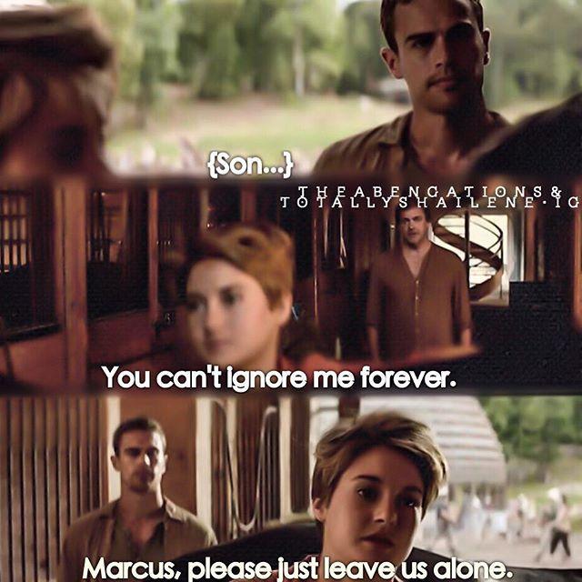 You tell him Tris!