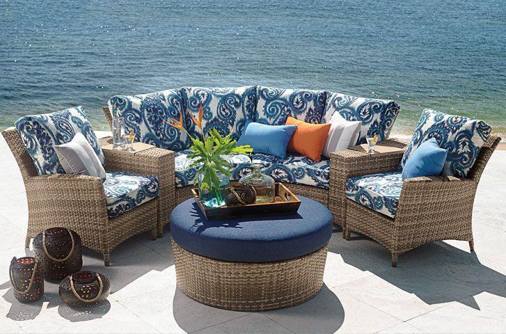 Half Circle Outdoor Cushions Off 70, Half Circle Patio Furniture