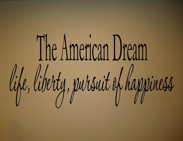 a definition of american dream There's nothing dreamlike about how americans perceive the american dream nothing surreal, or vague, or involving harried white rabbits in waistcoats the american.