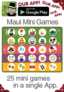 Maui Mini Games Educational App for babies, toddlers and ...