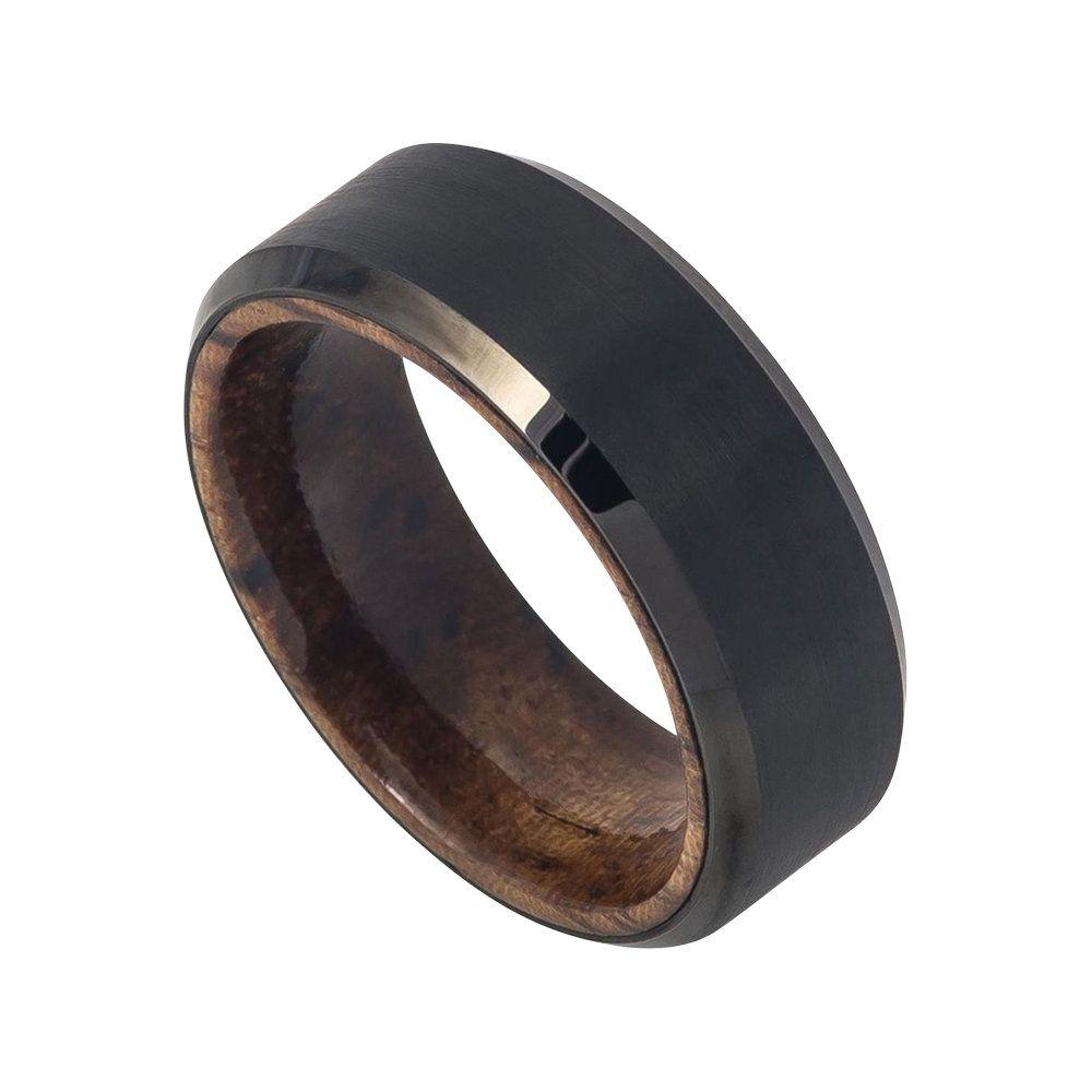 Mahogany Wood Ring Mens Wedding Band Tungsten Carbide 8mm Etsy Mens Wedding Bands Tungsten Rings Mens Wedding Bands Mens Wedding Bands Tungsten Black