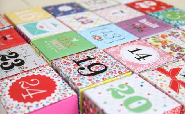 24 idées pour un calendrier de l'avent fait maison - Maman du Var #calendrierdelaventfaitmaisonenfant