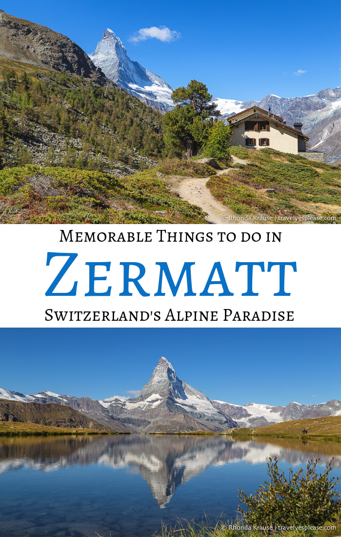 6 Memorable Things to Do in Zermatt Switzerland's Alpine Paradise is part of Zermatt  Memorable Things To Do In Switzerlands Alpine - Of all the wonderful locations included in my two week Switzerland itinerary, there was no place I was more excited to visit than Zermatt Zermatt had everything I hoped to see and experience on my first trip to Switzerland wooden chalets, rocky mountains, sprawling glaciers, sparkling…
