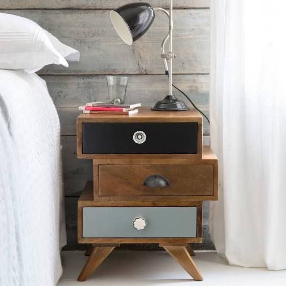 Quirky Bedside Tables Retro Home Decor Shabby Chic Furniture Furniture