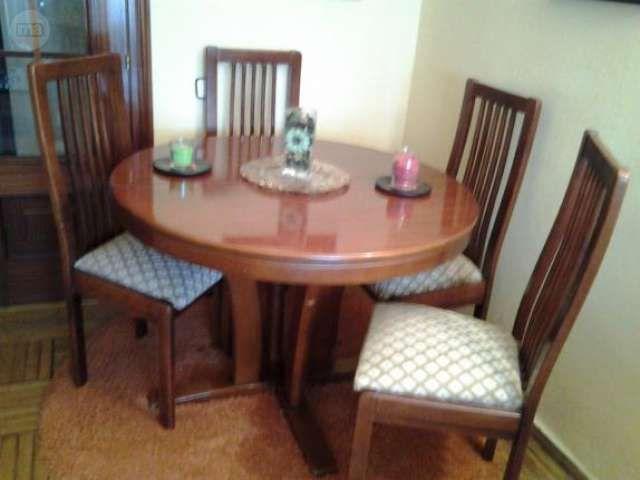 Mesa de comedor extensible con 4 sillas regalo alf medidas 1 por ...