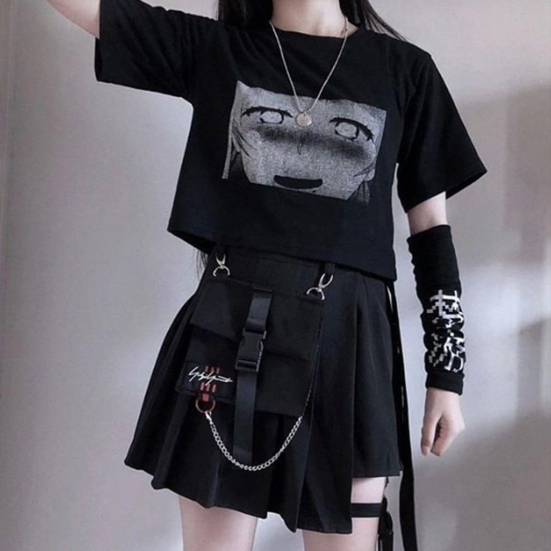 Fashion Inspo In 2020 Aesthetic Clothes Edgy Outfits Skirt Fashion