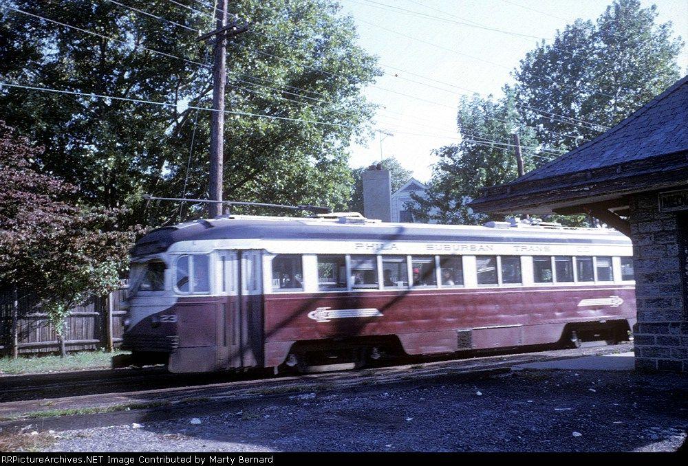 Philadelphia Suburban Transportation Company 23 Transportation Model Train Layouts Light Rail