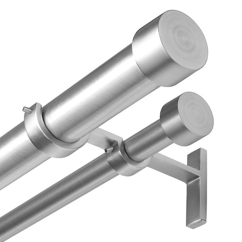 Cappa Drapery Solutions Curtain Hardware Set By Umbra Includes Two
