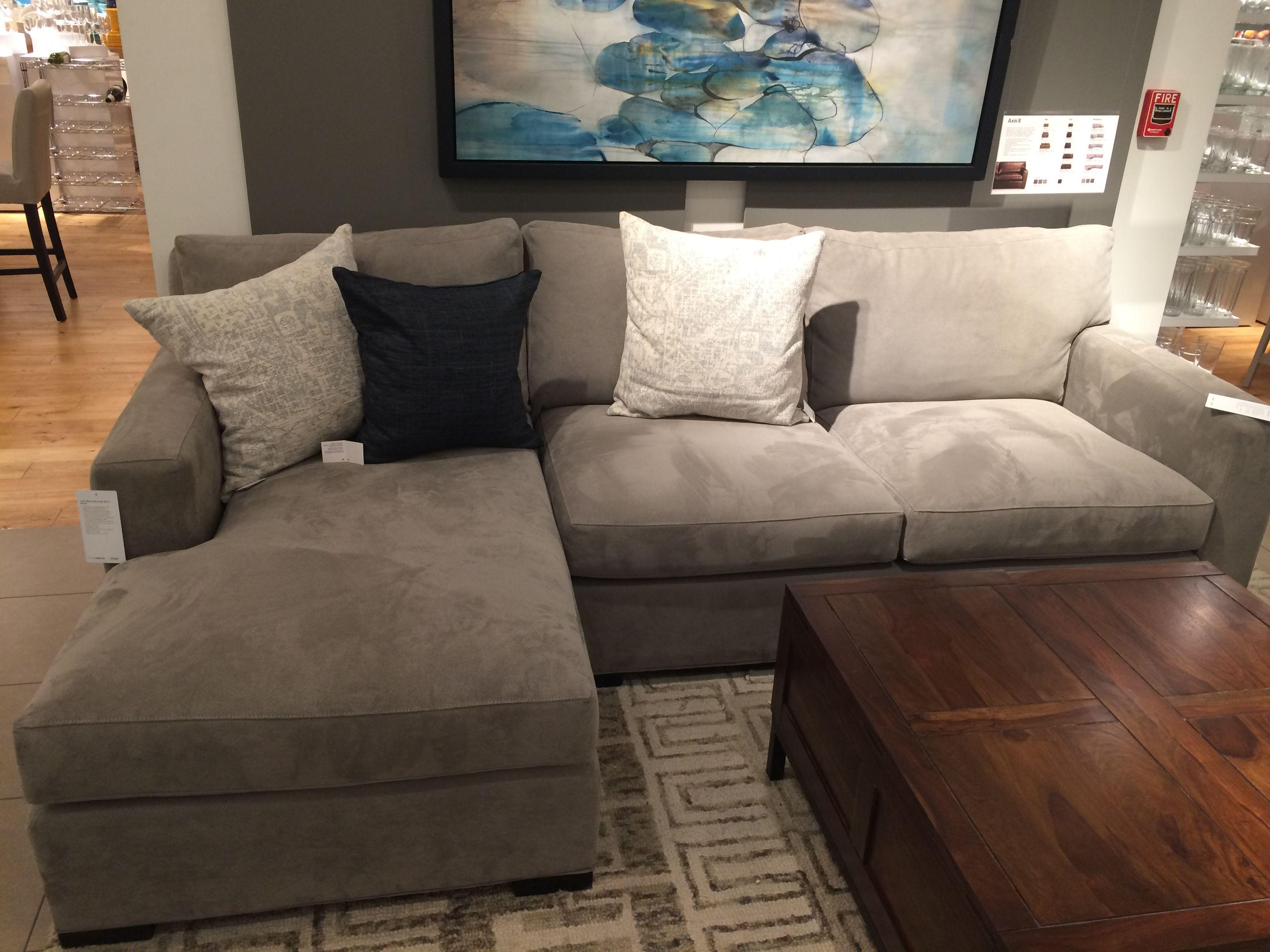 Sofa crate barrel para el cuarto de tv a la inversa - Sofas para habitacion ...