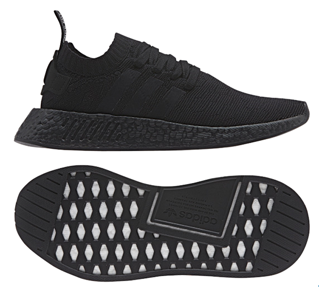 adidas nmd r2 triple black