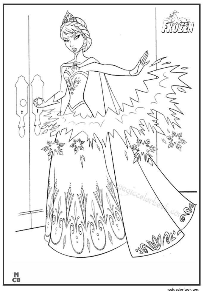 Frozen Archives Magic Color Book Disney Coloring Pages Elsa Coloring Pages Frozen Coloring Pages