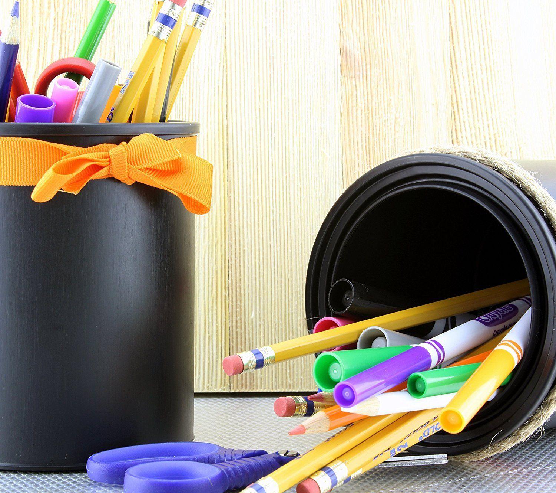 Black Plastic Paint Cans 3pack Quart Size Cans For Paints Paint Paint Cans Painting Craft Gifts