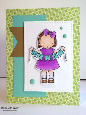 Stamp with Sandy - Pure Innocence - MFT - kids