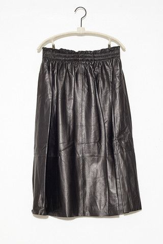 b1c934308f Eulera Leather Skirt by Malene Birger   shopheist.com   Malene ...