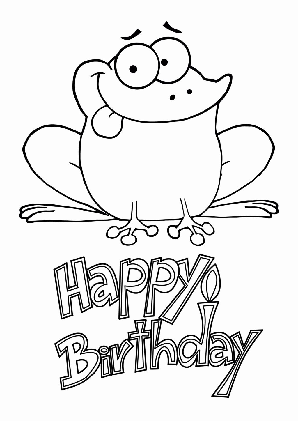 Happy Birthday Dog Card in 2020 Happy birthday coloring