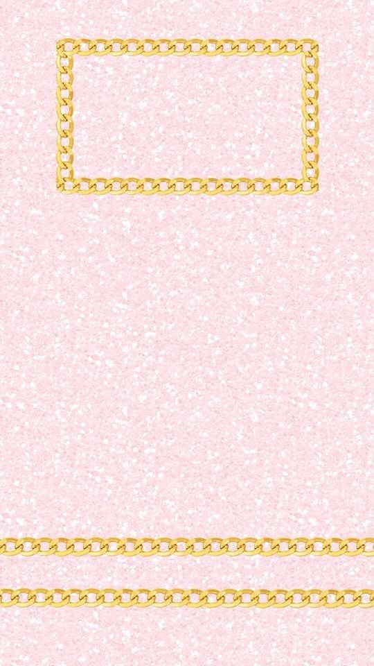 Pink Girly Glitter Gold IPhone Wallpaper Lock Screen