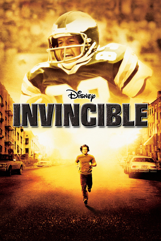 Invincible movie poster mark wahlberg greg kinnear