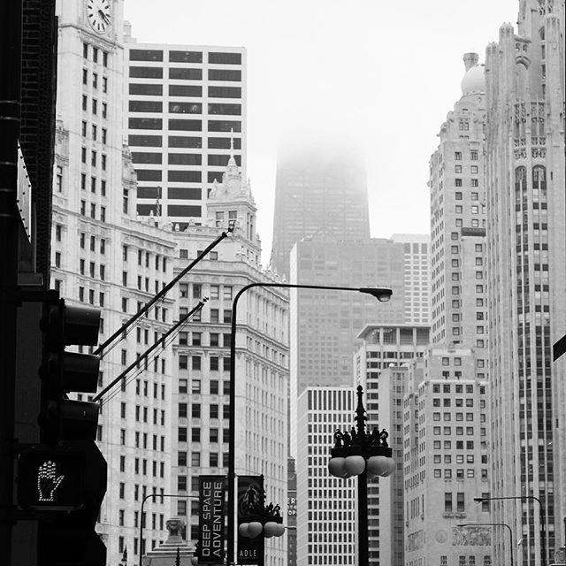 Chicago Bilder chicago im nebel aufgenommen vor vier jahren für weitere bilder