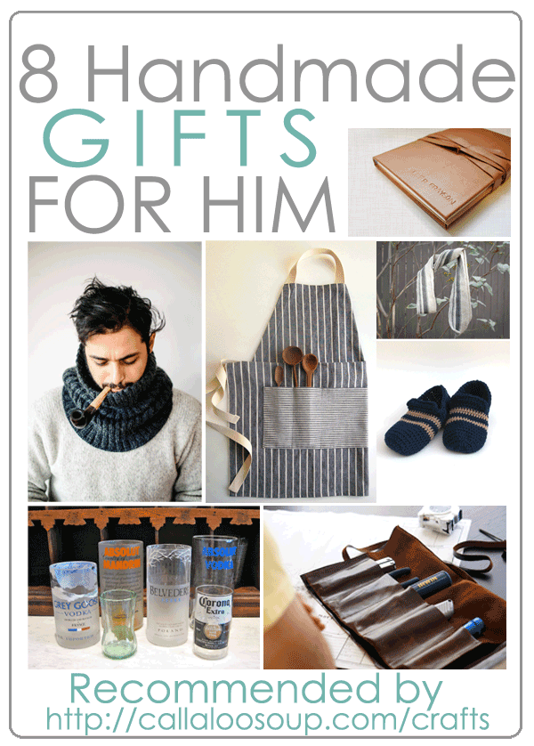 DIY Handmade Gifts for Him   \'Made with Love\' Gift Ideas   Pinterest ...