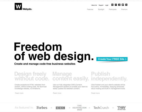13 Inspiring Examples Of Whitespace In Web Design Inspiration Web Design Minimalist Web Design Text Layout