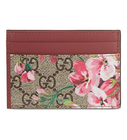 Gucci Card Holder Pink