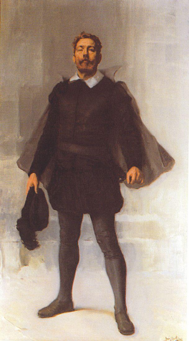 Luiz Vaz De Camoes Pintura Quadro De Jose Malhoa Jpg 609 1099