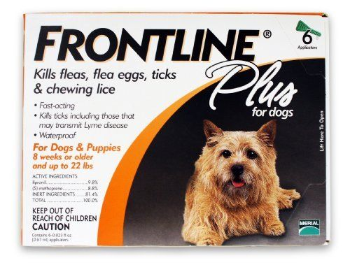 Merial Frontline Control Puppies 6 Doses Frontline Plus For Dogs Frontline Plus For Cats Fleas