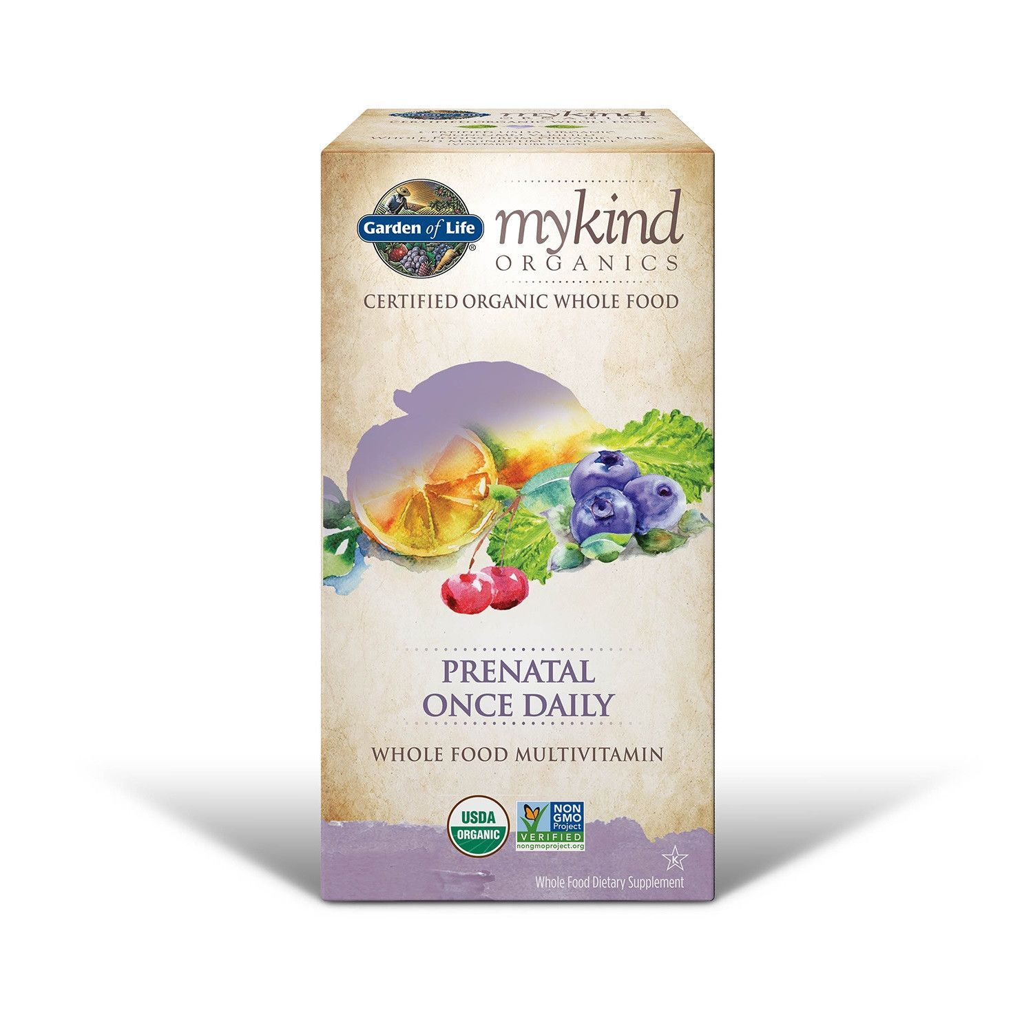 Garden Of Life mykind Organics Prenatal Once Daily