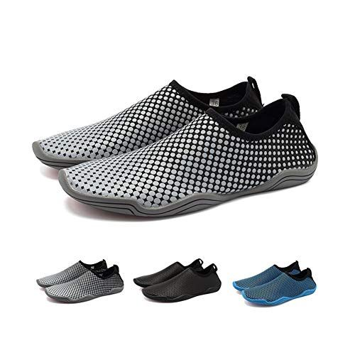 4093a27b0119 Coolloog Men Women Water Shoes Multifunctional Quick-Dry Barefoot Beach Swim  Shoes for with Drainage Holes Review