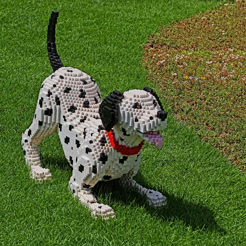 Lego Dog Spot Lego Dog Lego Sculptures Cool Lego Creations