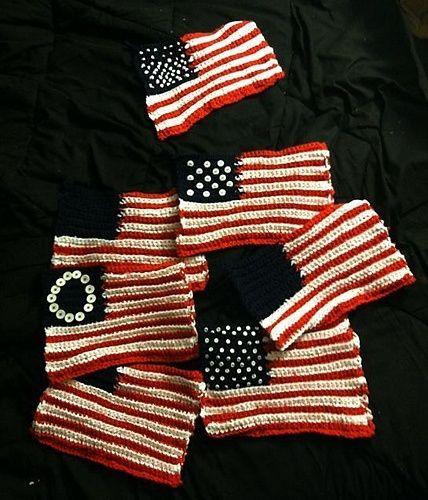 American Flag Crochet Potholders Free Crochet Pattern from The Yarn ...