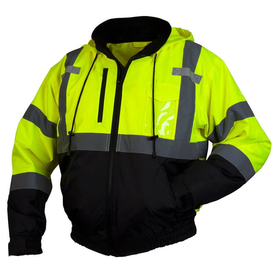 Pyramex RJ31 Type R Class 3 Safety Jacket With Removable