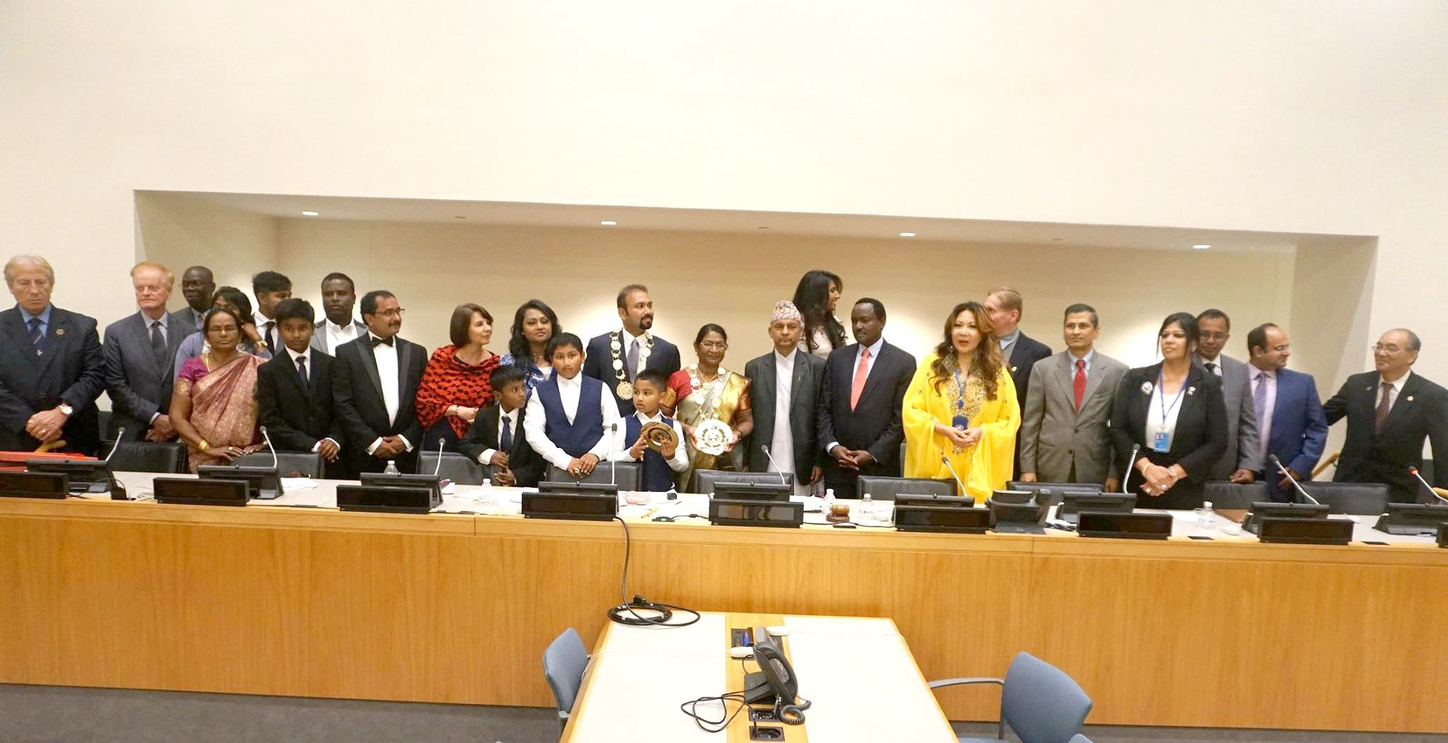 World Leaders and Royalty at the Triumphant 4th GOD Awards United Nations, NY