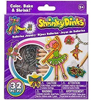 Alex Shrinky Dinks Minis - Ballerina Jewelry