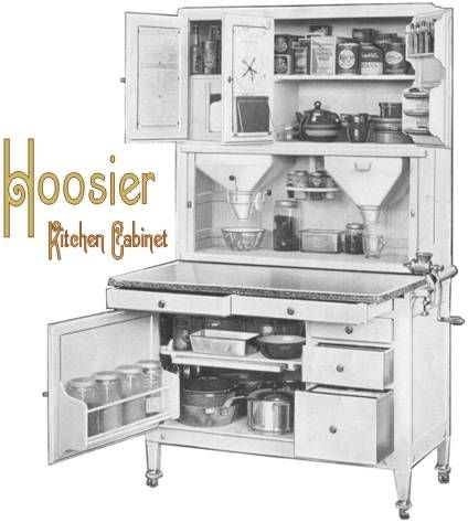 17 Best images about Hoosier & Hoosier Style Cabinet Ads on ...